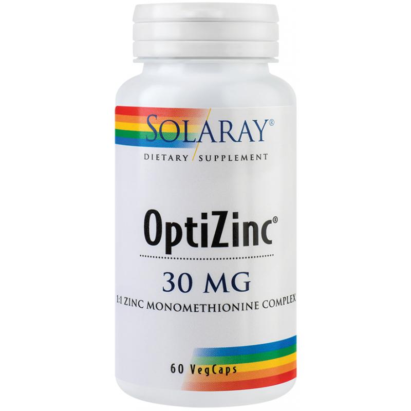 Optizinc 30 mg (60 capsule), Solaray