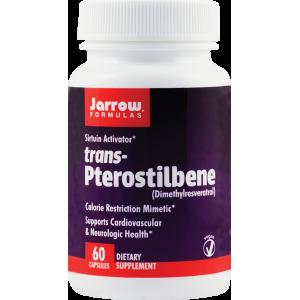 Trans-Pterostilbene 50 mg (60 capsule), Jarrow Formulas