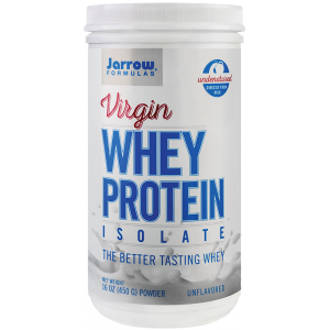 Virgin Whey Protein Isolate (450 grame pudra), Jarrow Formulas