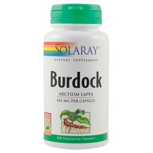 Burdock 425mg (100 capsule), Solaray