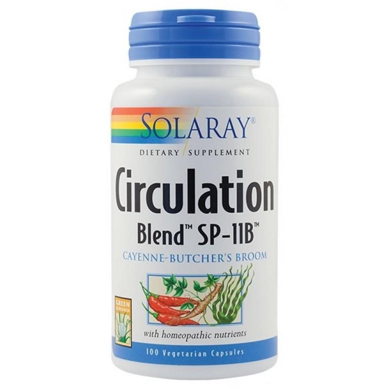 Circulation Blend (100 capsule), Solaray