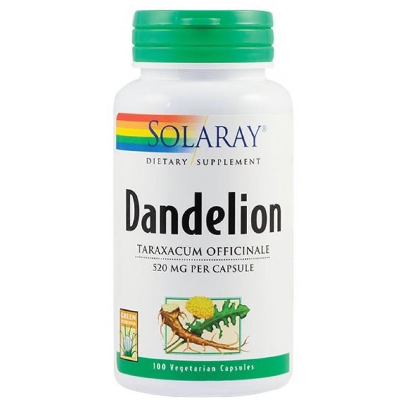 Dandelion 520mg (100 capsule), Solaray