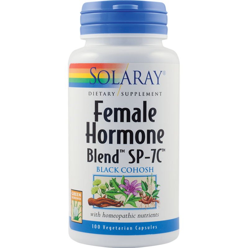 Female Hormone Blend (100 capsule), Solaray