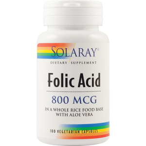 Acid Folic (100 capsule), Solaray