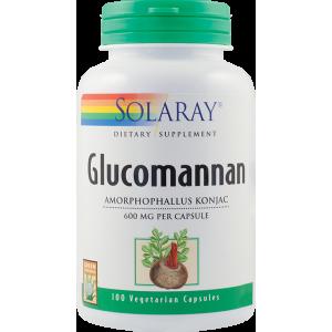 Glucomannan 600mg (100 capsule), Solaray