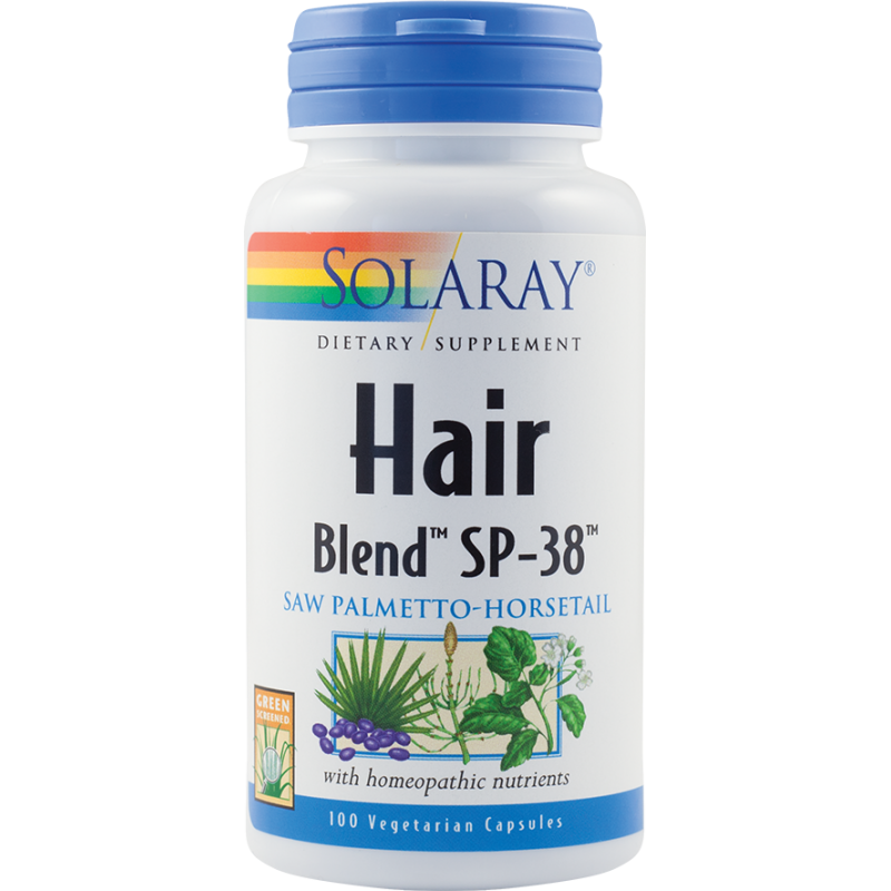 Hair Blend (100 capsule), Solaray