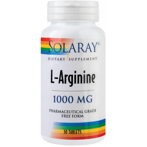 L-Arginine (30 tablete), Solaray