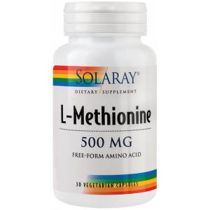 L-Methionine (30 capsule), Solaray