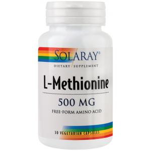 L-Methionine (30 capsule), Solaray