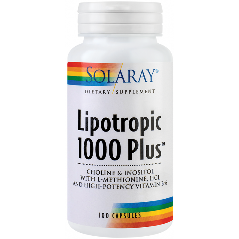 Lipotropic 1000 Plus (100 capsule), Solaray