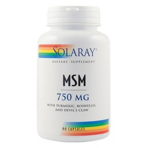 MSM 750mg (90 capsule), Solaray