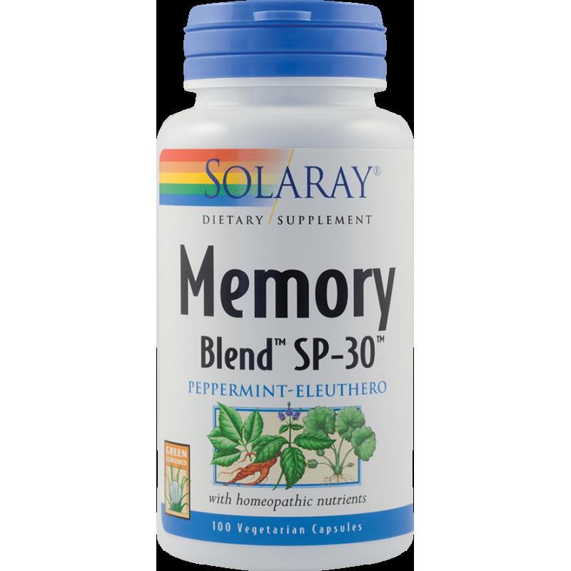 Memory Blend (100 capsule), Solaray