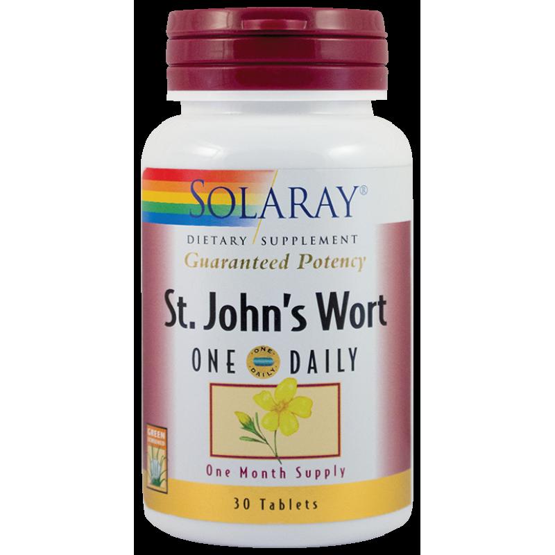 St. John's Worth 900mg (30 tablete), Solaray
