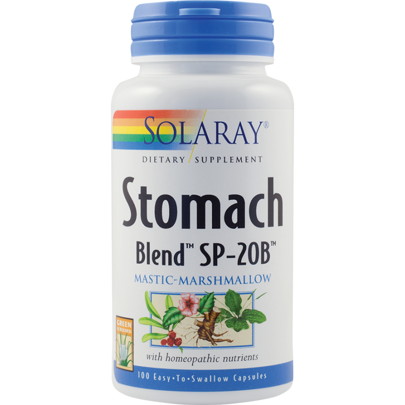 Stomach Blend (100 capsule), Solaray