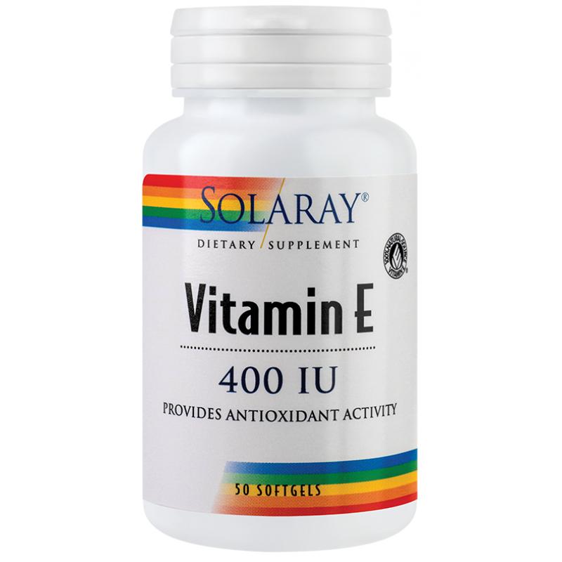 Vitamin E 400UI (50 capsule), Solaray