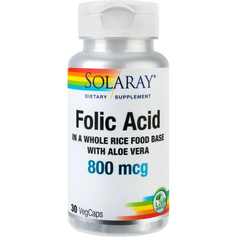Acid Folic (30 capsule), Solaray