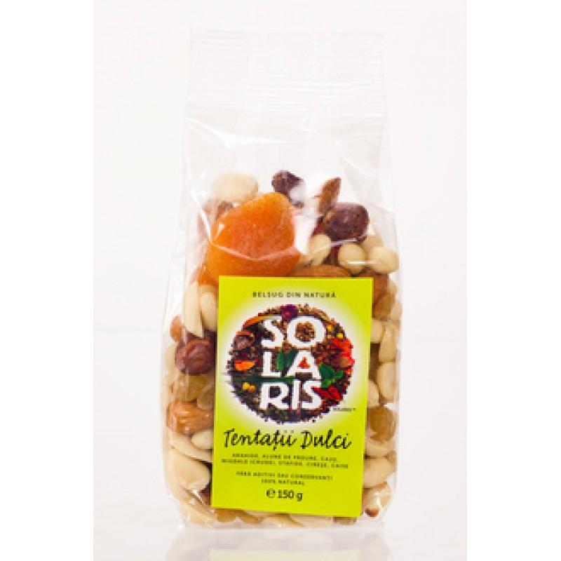 Tentatii dulci fructe uscate (150 grame), Solaris