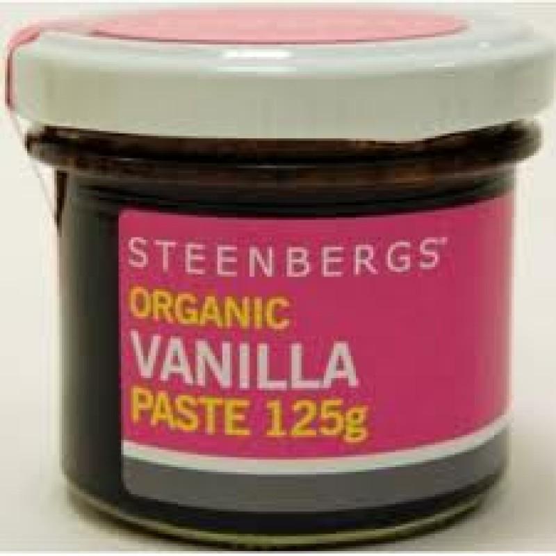 Pasta de vanilie bio (125g), Steenberg