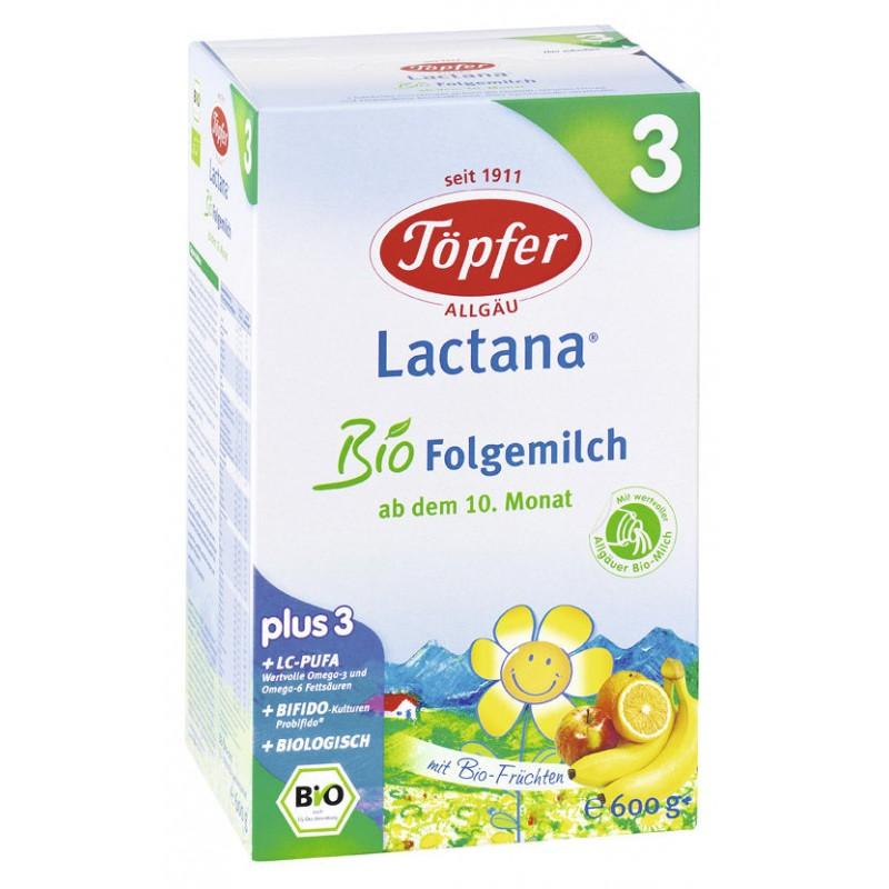 Lapte praf - Lactana Bio 3 (600 g)