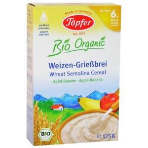 Topfer cereale gris mere banane (175 g)