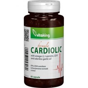 Complex Cardiolic pentru inima (60 capsule gelatinoase), Vitaking