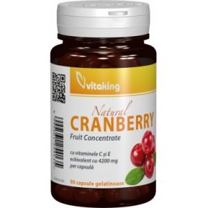 Extract de merisor (afin rosu) (90 capsule gelatinoase), Vitaking