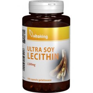 Lecitina 1200 mg (100 capsule gelatinoase), Vitaking