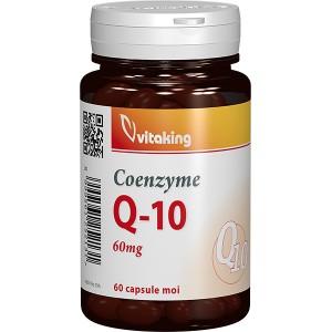 Coenzima Q10 60 mg (60 capsule gelatinoase), Vitaking