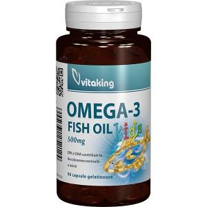 Omega-3 Kids (100 capsule gelatinoase), Vitaking
