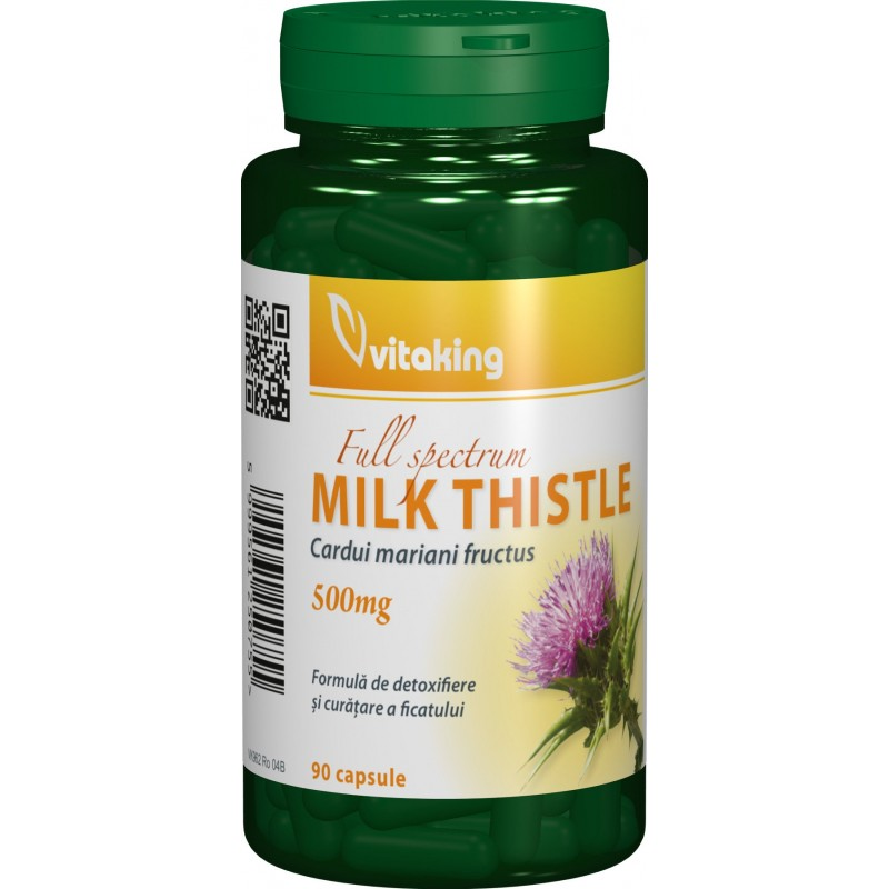 Armurariu (Ciulinul Laptelui) 500mg (90 capsule), Vitaking
