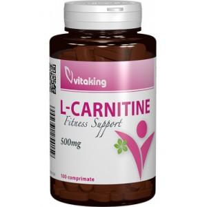 L-Carnitina 500mg (100 comprimate), Vitaking