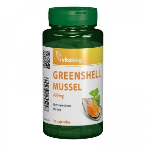 Cochilie de scoica verde 400 mg (30 capsule), Vitaking