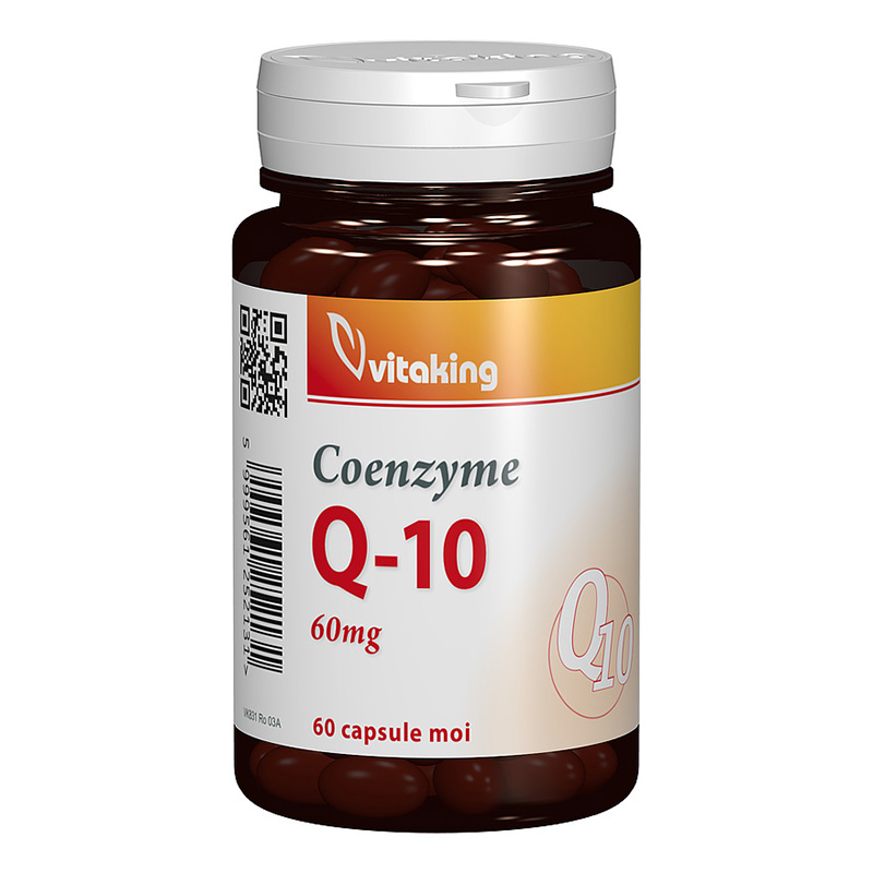 Coenzima Q-10 60 mg (60 capsule), Vitaking