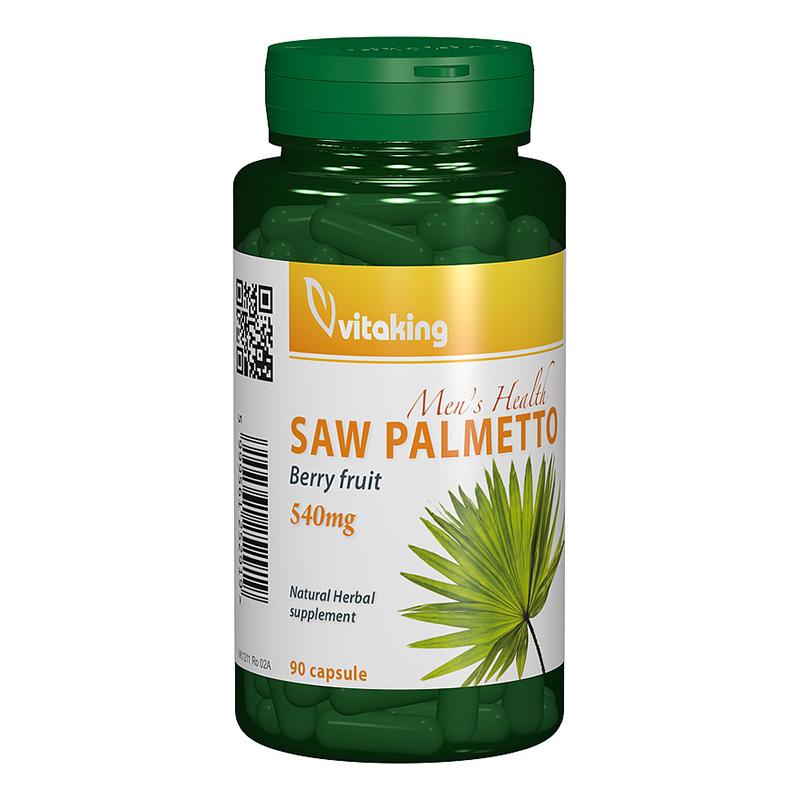 Extract de palmier pitic 540 mg (90 capsule), Vitaking