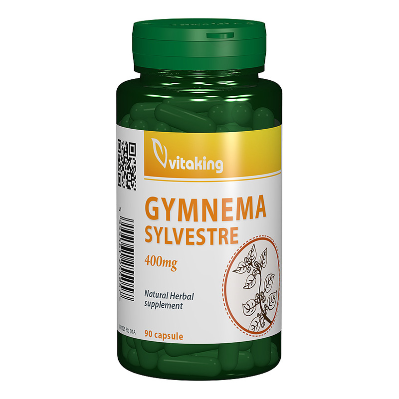 Gymnema Sylvestre 400 mg (90 tablete), Vitaking