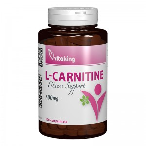 L-Carnitina 500 mg (100 comprimate), Vitaking