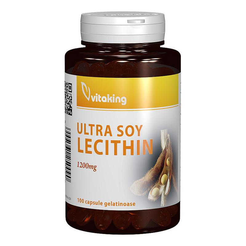 Lecitina 1200 mg (100 capsule), Vitaking