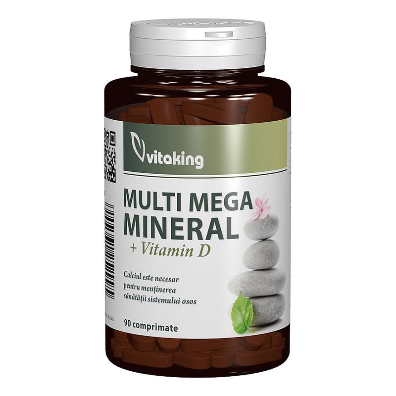 Multi Mega Mineral cu Vitamina D (90 comprimate), Vitaking