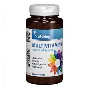 Multivitamina pentru adolescenti (90 comprimate), Vitaking