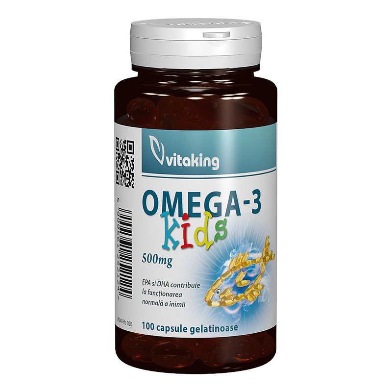 Omega-3 Kids (100 capsule), Vitaking