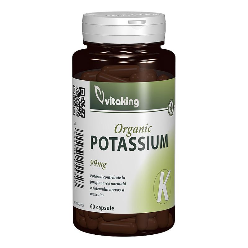 Potasiu 99 mg (60 capsule), Vitaking