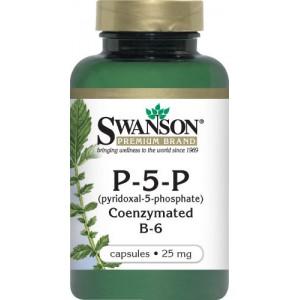 Vitamina B6 (piridoxina) 25mg (60 capsule), Swanson