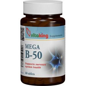 Complex de vitamina B50 (60 comprimate), Vitaking