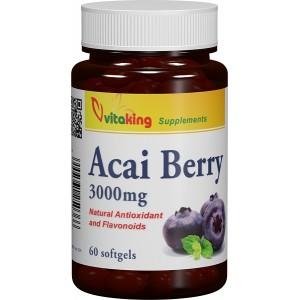 Acai berry (60 capsule gelatinoase), Vitaking