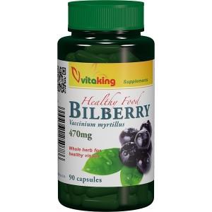 Afin negru 470mg (Bilberry) (90 capsule), Vitaking