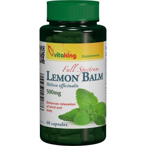 Roinita (Lemon Balm) 500mg (60 capsule), Vitaking