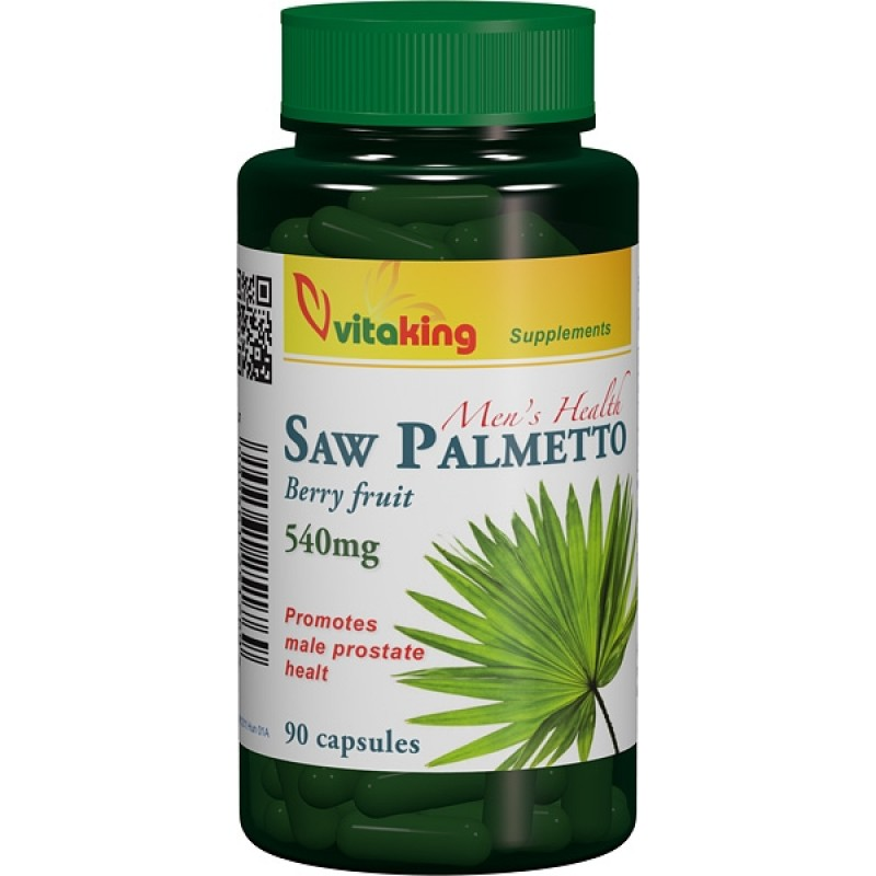 Extract de palmier pitic (Saw palmetto) 540 mg (90 capsule), Vitaking