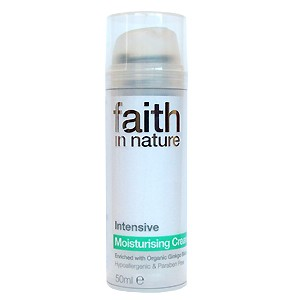 Crema hidratanta intensiva cu Ginkgo Biloba naturala (50 ml), Faith in Nature