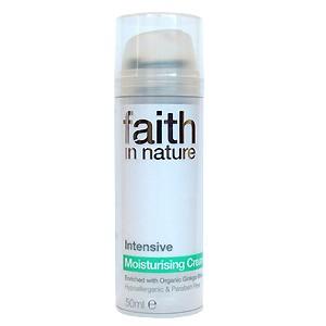Crema hidratanta intensiva cu Ginkgo Biloba naturala (50 ml), Faith in Nature