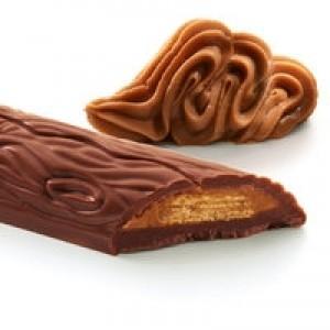 Ciocolata de lapte cu praline si vafa (20 grame), Cavalier